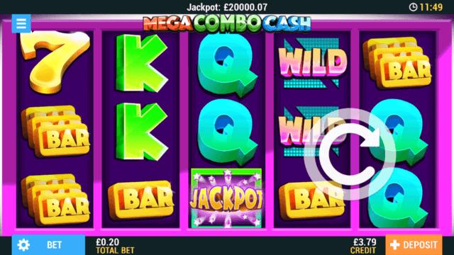 Mega Combo Cash mobile slots at Casino 2020