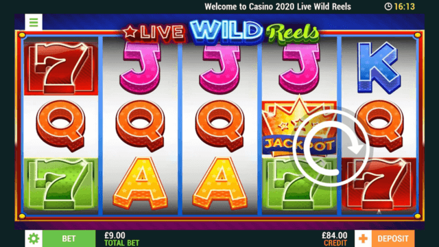 Live Wild Reels mobile slots at Casino 2020
