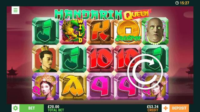 Mandarin Queen mobile slots at Casino 2020