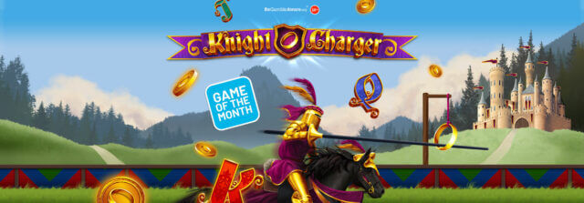 Get ready to step back in time and visit the regal reels of Knight Charger online slots!