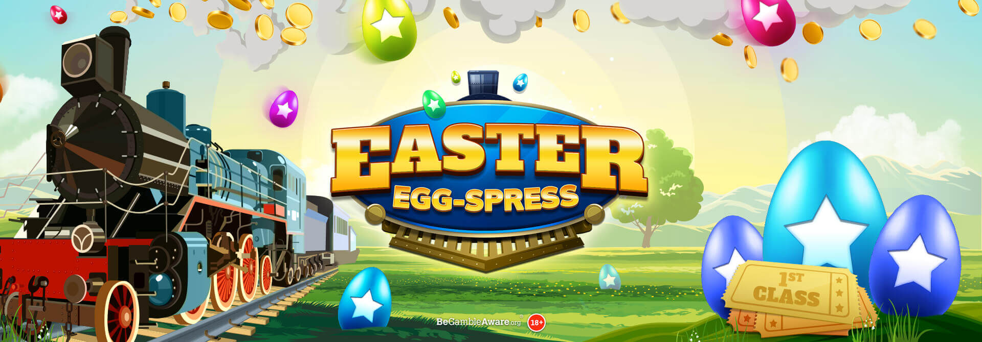 Find out who steamed away with big prizes aboard the Easter Egg-spress