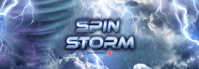 WIN a share of 10,000 FREE SPINS! – Spin Storm