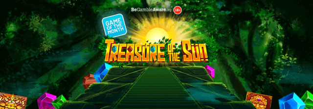 Will the sun god be on your side with Treasure of the Sun online slots?
