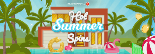 Crack on with up to 20,000 summer spins!