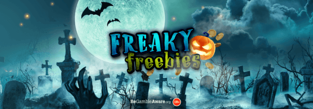 Free prizes up for grabs every day in our spooktacular Freaky Freebies Halloween Campaign